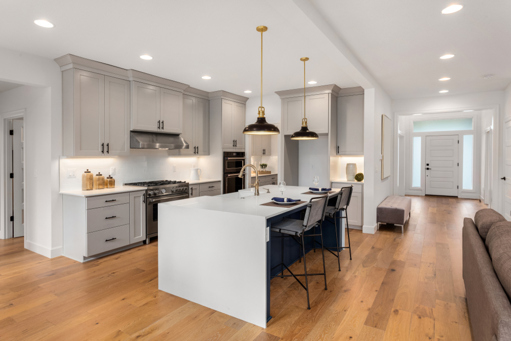 nieuwe hoogglans keuken